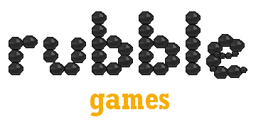 Rubble Games logo
